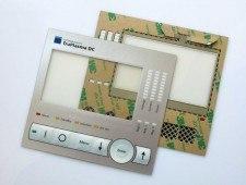 zdjęcie 5 - przykład elewacji foliowej z ekranowaniem EMI całości łącznie z transparentnym polem okna wyświetlacza z wykorzystaniem folii ITO.